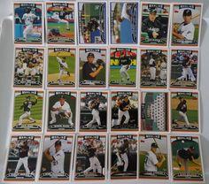 2006 Topps Series 1 & 2 Florida Marlins Team Set of 24 Baseball Cards #topps #FloridaMarlins