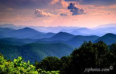 Blue Ridge Mountains, VA. This picture almost makes them look like real mountains! :)