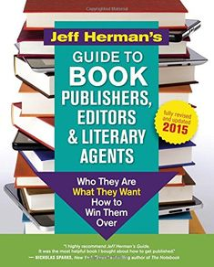Jeff Herman's Guide to Book Publishers, Editors and Literary Agents: Who They Are, What They Want, How to Win Them Over (Jeff Herman's Guide to Book Editors, Publishers, and Literary Agents) by Jeff Herman http://www.amazon.com/dp/1608683095/ref=cm_sw_r_pi_dp_1X6Qub0MGCF44