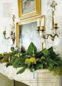 heirloom philosophy: Day {8} The Christmas Mantle
