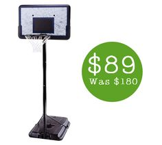 Lifetime Portable Basketball System with 44-Inch Backboard $89 Shipped (Was $180) - http://www.swaggrabber.com/?p=248259