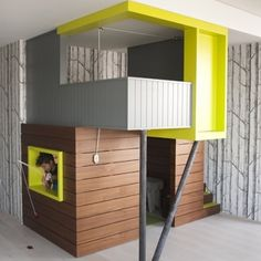 """Great playhouses...like #6...very minimalistic and can always """"dress"""" it up. Besides daddy could certainly built one! ;)"""