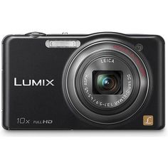 Panasonic Lumix SZ7 14.1 MP High Sensitivity MOS Digital Camera with 10x Optical Zoom (Black) includes case and 8GB SD card by Panasonic. $132.06. The Lumix DMC-SZ7, a part of the Lumix SZ-Series of digital cameras combines a powerful 10x optical zoom with a 25mm ultra-wide angle LEICA DC VARIO-ELMAR lens, in a slim and compact body, making it extremely portable and easy to carry. The Lumix SZ7 has 14.1 megapixels and can also shoot full-High Definition, 1920 x 1080 60i videos an...