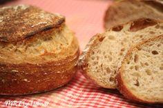 Mis recetas favoritas: Pan con masa madre sin amasado