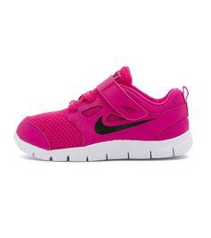 658adf5d0b30 Nike Free 5 TDV Toddler Pink Black