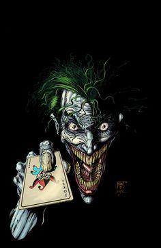 Joker Colored by *KenHunt on deviantART