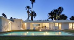 Mid-Modern Luxury Dream! Vacation Rental in Palm Springs from @HomeAway! #vacation #rental #travel #homeaway #modern #pool #hottub