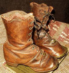 Civil War era child's shoes.
