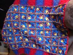 Spiderman Rag Quilt