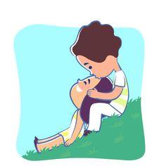 Funny Cartoon Gifs, Cute Cartoon Images, Cute Love Cartoons, Love You Gif, Cute Love Gif, Cute Love Couple, Love My Wife Quotes, Cute Love Quotes, Animated Smiley Faces