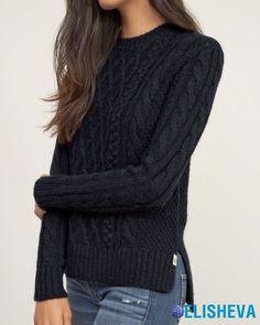 Модные свитера и вязаные кофты зима 2016-2017 | Блог elisheva.ru