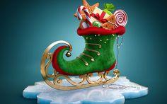 .... lá vem Papai Noel ... beijinhos