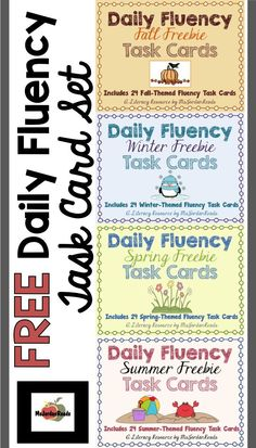 FREE Daily Fluency T