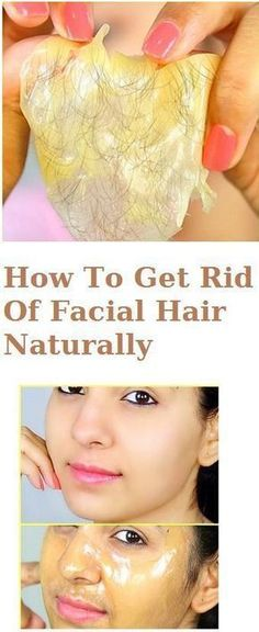 How To Get Rid Of Facial Hair Naturally .. pinterest: ☞ katebrixx