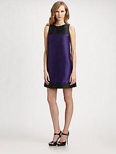 Lotusgrace - A-Line Scallop Dress