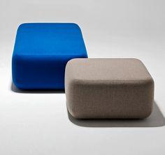 Tablet Ottoman   Lounge Chair   HaworthxFriends