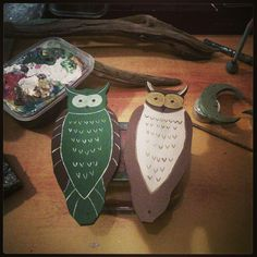 This two owls soon in new creations!