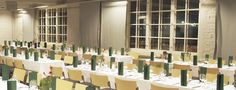 This lovely setting is from #Puusepän #Verstas room, where dinners and congress are kept. #Sibelius