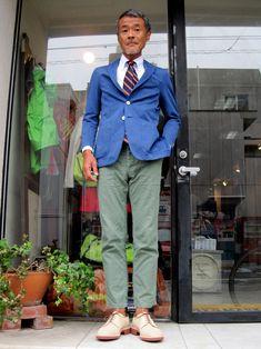 アイビーど真ん中って雰囲気のスニーカー の画像 boysmarketのブログ Fashion For Men Over 50, Mature Mens Fashion, Cool Street Fashion, Street Style, Ivy Style, Japanese Men, Muji, Fashion 2018, Mens Suits