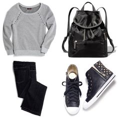 Erica's Fashion & Beauty: Your Avon Rep. Suggests - Back To School Must-Haves (Teens) #backtoschool #teenfashion #backpack #sneakers