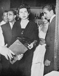 Princess Soraya and the Shah.