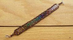 Fantasia bracelet. Design by Jill Wiseman, made by Jennifer Ehrichs