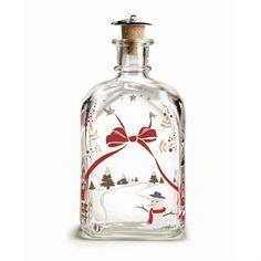 Holmegaard Christmas bottle from Holmegaard by Holmegaard