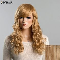 Stunning Long Human Hair Shaggy Wave Capless Siv Hair Wig For Women #>=#>=#>=#>=#> Click on the pin to check out discount price, color, size, shipping, etc. Save and like it!