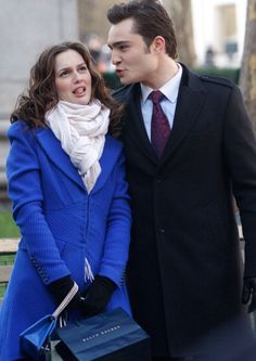 Chuck & Blair, cutest pair ever. <3