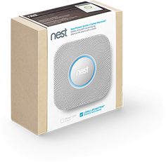 Nest Protect. Next gen smoke alarm (and more) from the Nest thermostat people.