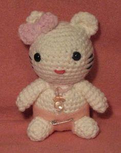 Armina's Ami-Nals: New Kitty Pattern