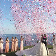 La Dolce Vita: Giovanna Battaglia Wears Alexander McQueen to Her Wedding in Capri