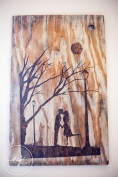 wood burned art on Etsy!