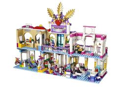 Pin for Later: 17 Lego Sets We Couldn't Wait to Get Our Hands on This Year Lego Friends Heartlake Shopping Mall Lego Sets, Lego Machines, Lego Friends Sets, Lego Activities, Lego Craft, Cool Lego Creations, Lego Design, Lego House, Lego Disney