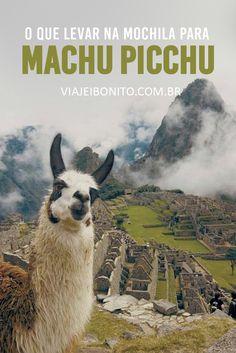 O que levar para Machu Picchu, a cidade perdida dos incas no Peru. Dicas sobre Machu Picchu e muito mais. Créditos: bancoimageneslibres.com