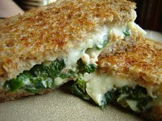 Spinach+Artichoke+Grilled+Cheese.JPG 1,600×1,200 pixels