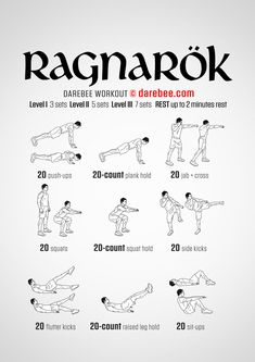 timing to finid this Ragnarok Workout right after the new Thor Ragnarok teaser trailer is released.Perefect timing to finid this Ragnarok Workout right after the new Thor Ragnarok teaser trailer is released. Fitness Workouts, Hero Workouts, Gym Workout Tips, Workout Challenge, Yoga Fitness, At Home Workouts, Movie Workouts, 300 Workout, Health Fitness