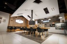 Gallery Of Cafeina Café Modelina Architekci Cafes - Coffee shops around world eye catching interior design details