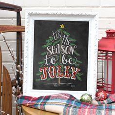Tis The Season To Be Jolly - Print