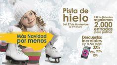 Pista de hielo en Zenia Boulevard - Centro Comercial en Orihuela Costa - Alicante