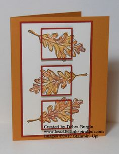 """Gently Falling--great depth! Similar to """"triple time"""" stamping only with two layers. Cool!"""