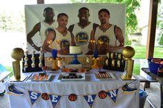 Golden State Warriors, Birthday, Party, Birthdays, Parties, Dirt Bike Birthday, Birth Day