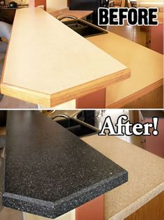Refinishing Countertops And Do It Yourself Painting | Miracle Method