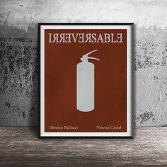 Movie poster print Irreversable-alternative movie by OandBstudios