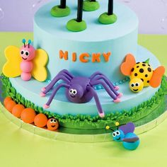 How to - Fondant Bugs