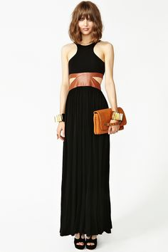 Wine & Dine Maxi Dress in Clothes Dresses at Nasty Gal m All About Fashion, Love Fashion, Fashion Models, Fashion Outfits, Fashion Design, Fashion Trends, All Black Dresses, Striped Maxi Skirts, Dress Skirt
