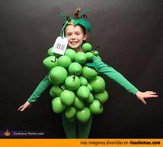 Disfraces originales: Racimo de uvas.