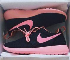 Pink & Black Nike Roshe Run