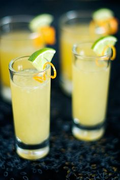 Margarita Jello Shots, from Use Real Butter
