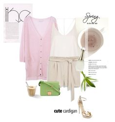 """Cute Cardigan"" by rever-de-paris ❤ liked on Polyvore featuring Chicnova Fashion, Topshop, MANGO, Monique Lhuillier, Vivienne Westwood, Christian Dior, Spring, contest, polyvoreeditorial and springcardigan"